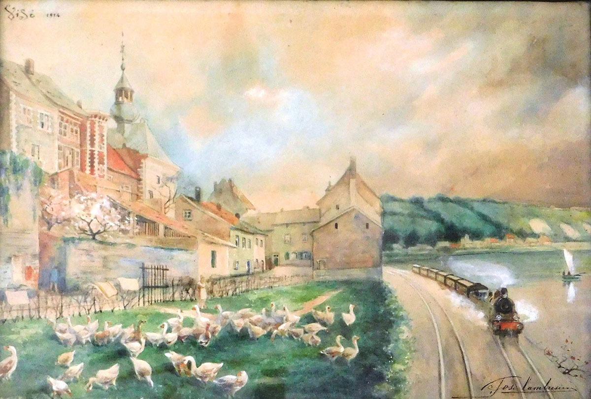 Jos.-Cambresier-Train-à-Visé-1914-1