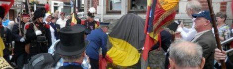 Inauguration du monument des Gendarmes
