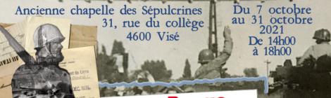 """Exposition: « Les 100 ans de la S.R.A.H.V. », """"Septembre 1944 - de l'Occupation à la Libération"""" et """"Résiste"""" des Territoires de la Mémoire."""