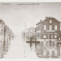 Inondations de Cheratte 28-février-1910