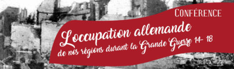 [Conférence] L'occupation allemande