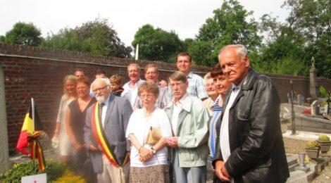 Inauguration d'un monument à Richelle